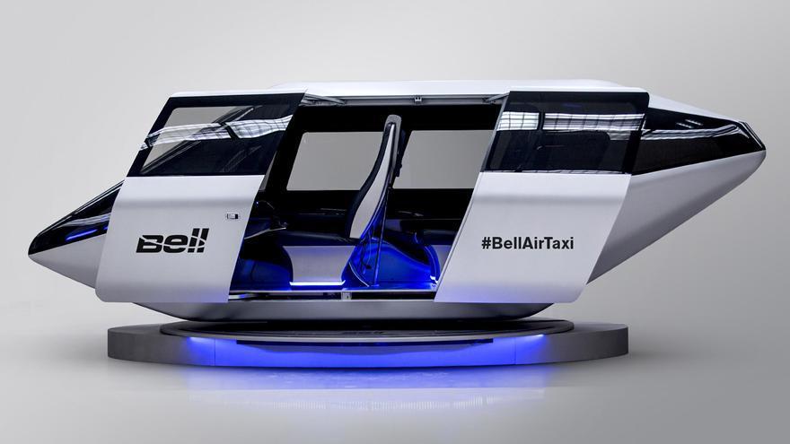 Prototipo de taxi aéreo de la compañía Bell Helicopter.
