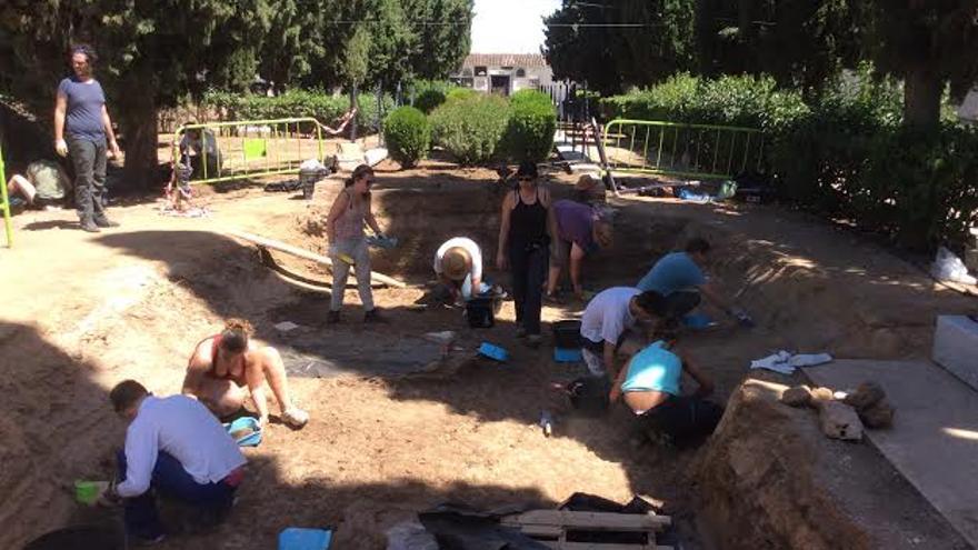 Exhumacion fosa Villanueva Serena Memoria Historica