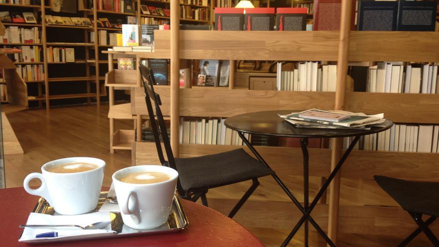 La librería Walden, situada en la calle pamplonesa de Paulino Caballero.