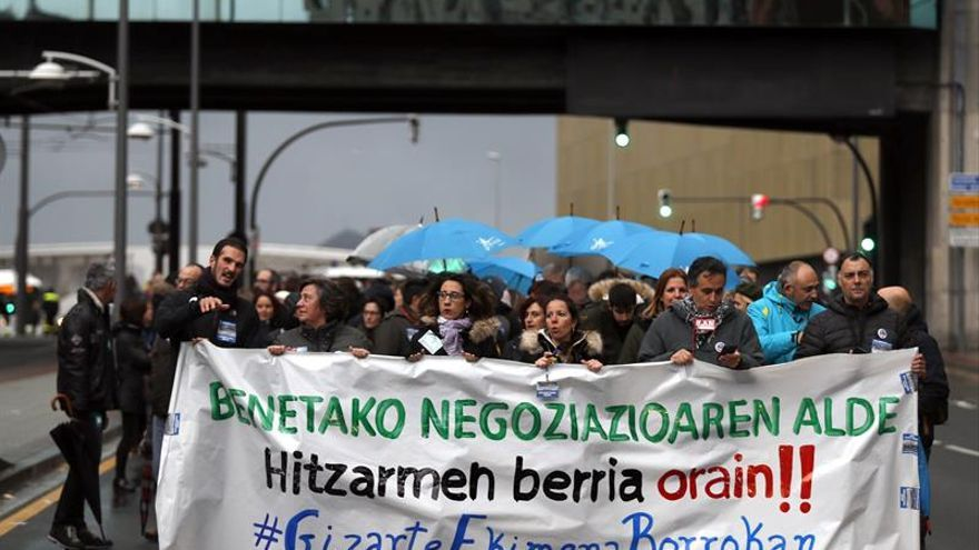 Desconvocada la huelga en la enseñanza concertada vasca
