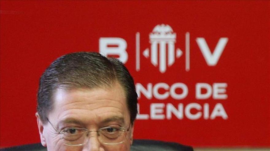 Domingo Parra, exresponsable del Banco de Valencia, una entidad rescatada por el estado.