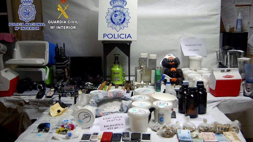 Desmantelada una red que introducía cocaína en Fuerteventura