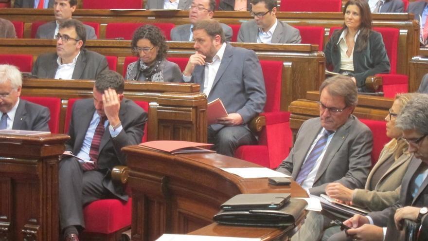 Artur Mas reta a la oposición a recortar 2.000 millones si quiere evitar privatizaciones