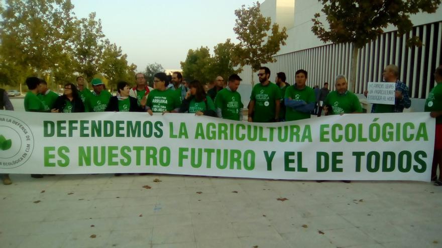 Agricultores ecológicos, hoy, en Toledo