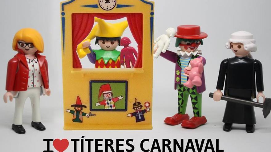 I love títeres carnaval