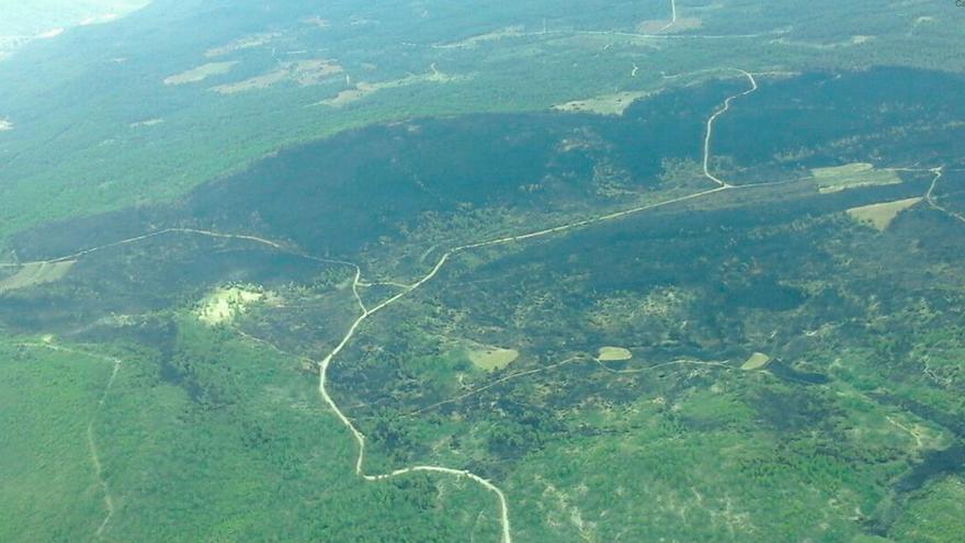 Controlados los incendios de Tobarra y Víllora
