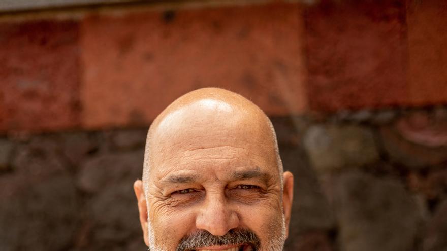 Marcos Tavío, un guanche en la cocina