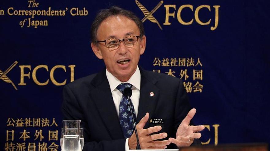 Okinawa continuará bloqueando el polémico traslado de la base de EEUU