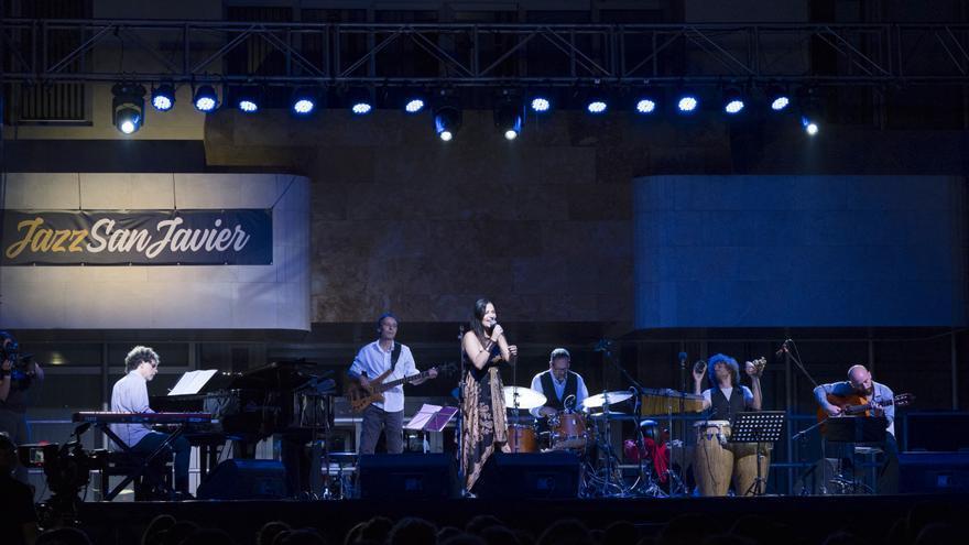 El grupo de Anna Luna en Jazz San Javier