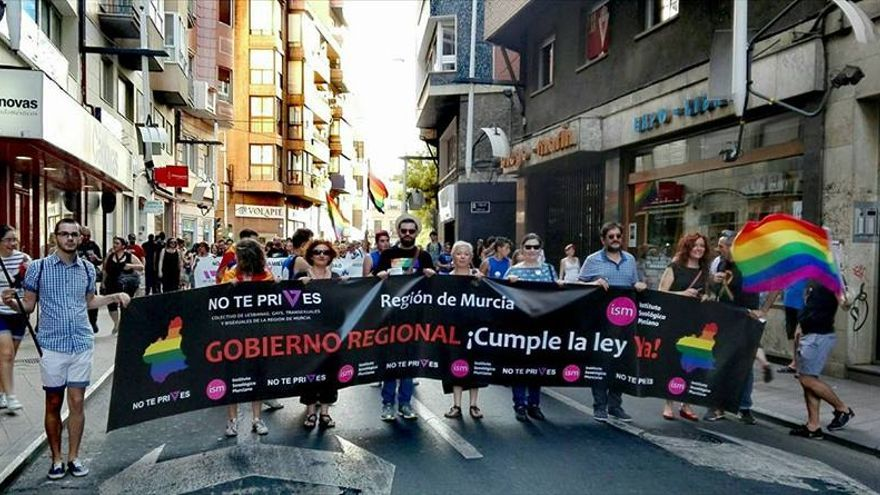 Desfile del Orgullo LGTBI en Murcia / JAVIER DÍAZ PERIAGO