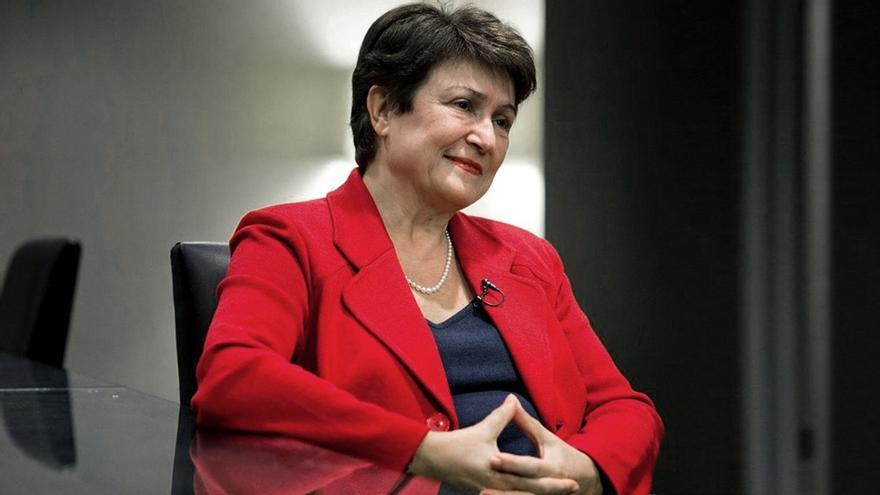 Kristalina Georgieva, directora general del FMI.