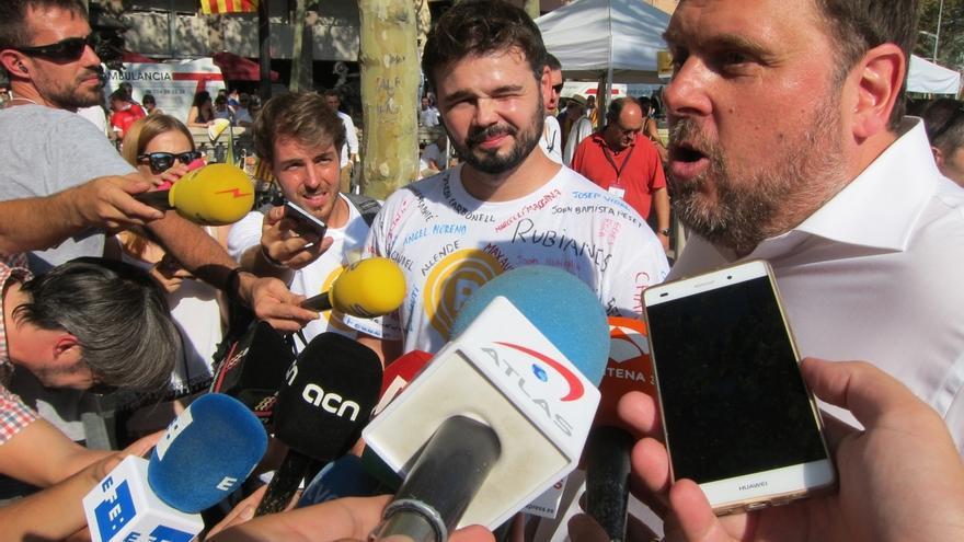 """Junqueras avala la propuesta de Puigdemont: """"Somos los campeones de los referéndums"""""""