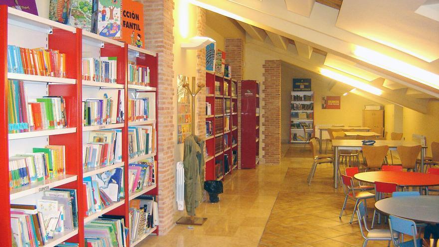 Una biblioteca en Castilla-La Mancha