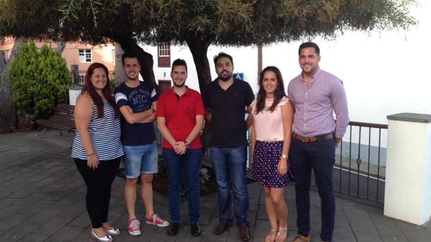 De izquierda a derecha, Patricia González, Héctor Cabrera, Juan Gabriel Pérez, Sergio Medina, Adriana Rodríguez y Kilian Sánchez.