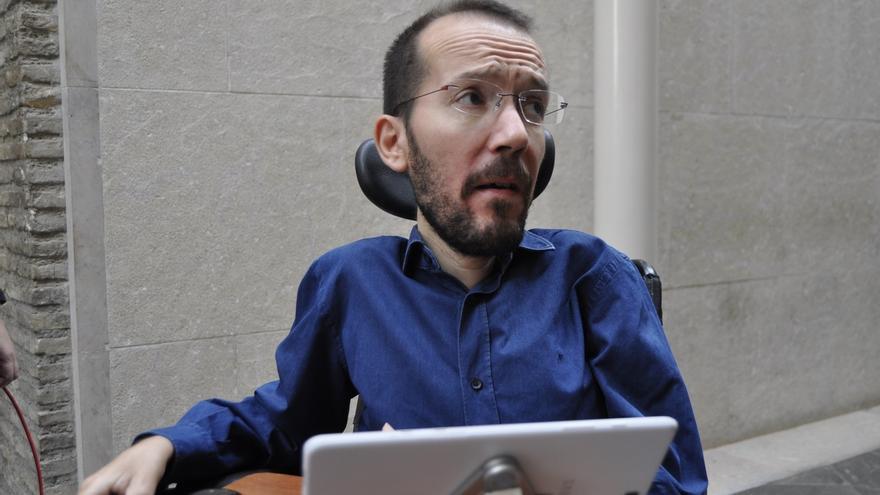 """Echenique (Podemos) confía en el juicio ecuánime de Pablo Iglesias para """"reestructurar"""" la dirección"""