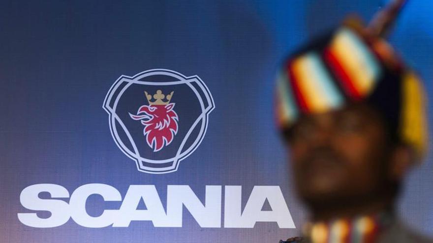 La CE multa con 880,5 millones de euros a Scania por un cartel de camiones