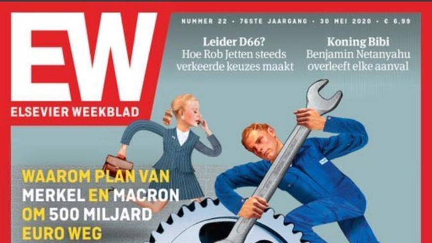Portada del número publicado el 28 de mayo de la revista holandesa Elsevier Weekblad