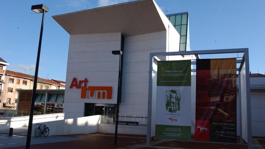 Imagen del Museo Artium, en Vitoria.