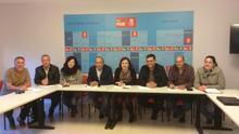 Miembros de la Gestora del PSOE en La Gomera