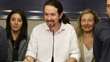 "Pablo Iglesias ofrece a Pedro Sánchez un gobierno de coalición ""proporcional"", con él de vicepresidente"