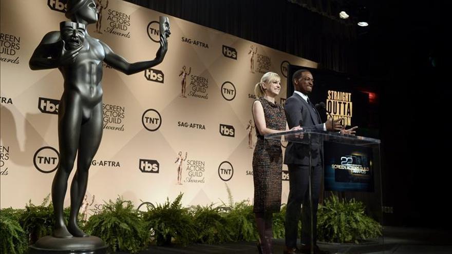 """""""Trumbo"""" y """"House of Cards"""", favoritas en los premios del Sindicato de Actores"""