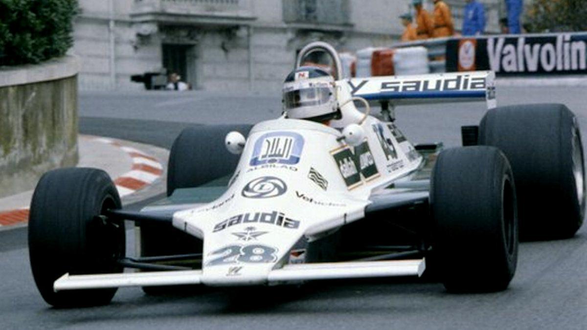 Lole Reutemann, en su Williams FW07