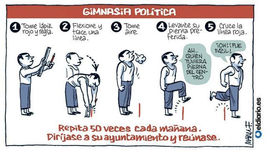 Gimnasia política