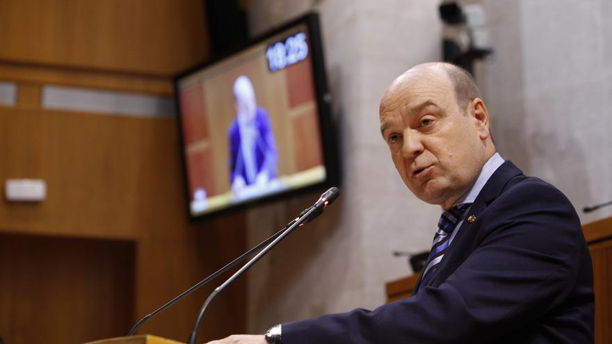 El presidente de Vox en Zaragoza, Santiago Morón