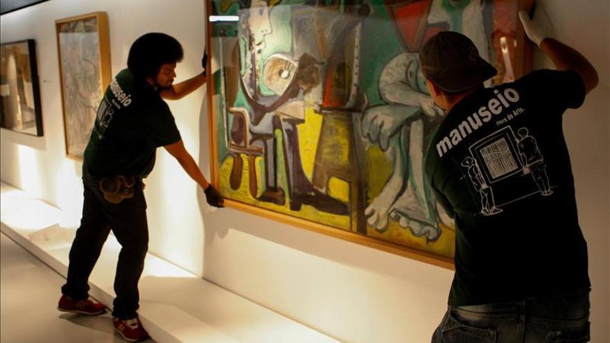 El imaginario 'picassiano' que alumbró al Guernica llega a Brasil
