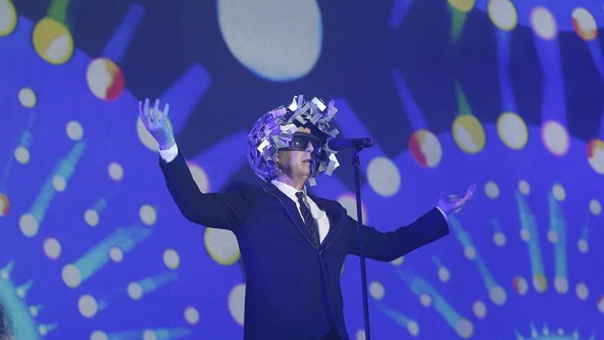 El público disfruta como un niño con el 'poptimismo' de Pet Shop Boys
