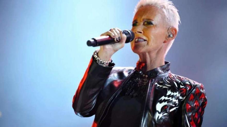 Marie Frederiksson, vocalista del grupo Roxette