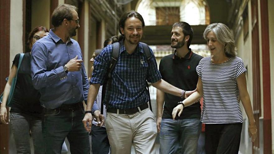 ICV y Podemos Cataluña irán juntos a las generales y crearán grupo en el Congreso
