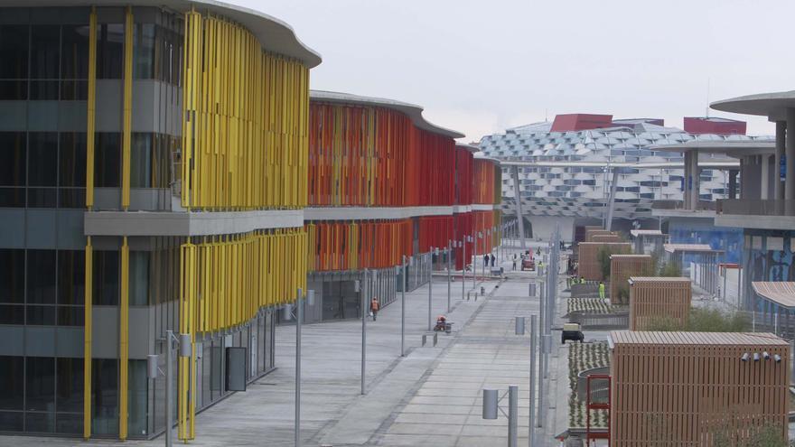 Recinto de la Expo 2008. Foto: Expo Zaragoza Empresarial.
