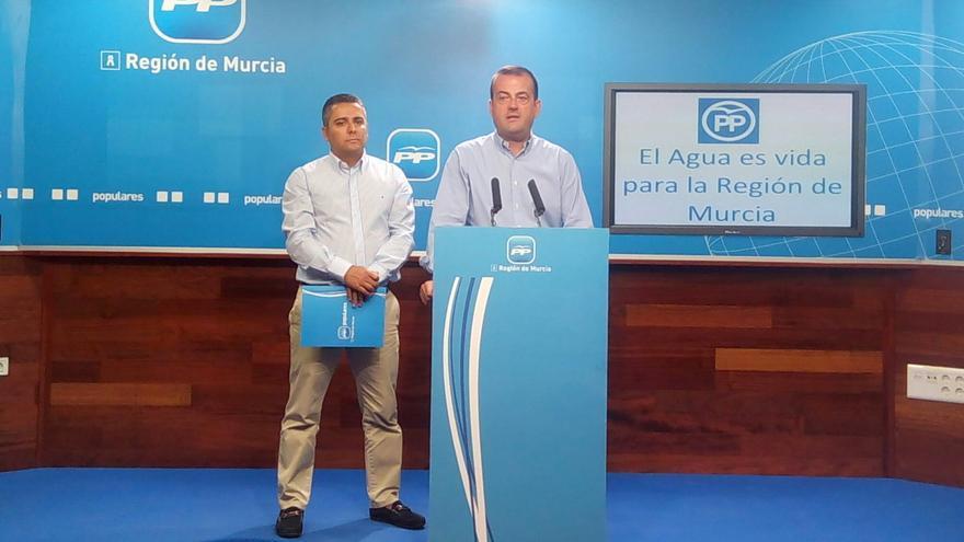 El portavoz del PP de la Región de Murcia, Javier Iniesta