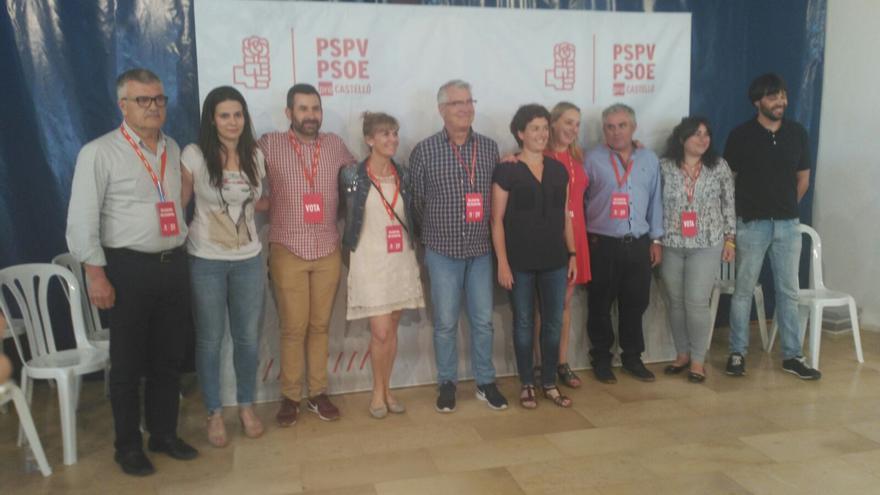 Un momento del congresillo del PSPV-PSOE de Castellón donde se ha elegido a los delegados para el congreso federal del PSOE.