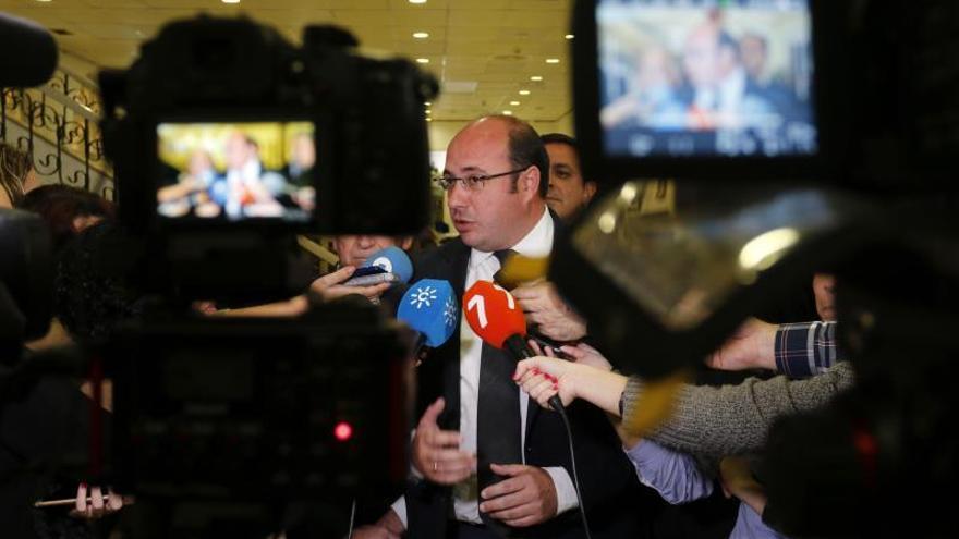 """El presidente de Murcia: """"Nadie puede trocear los ríos ni ponerles fronteras"""""""