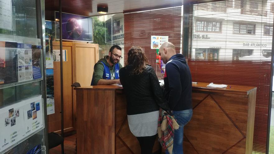 Oficina de Información Turística de la Casita de Cristal, en Santa Cruz de La Palma.