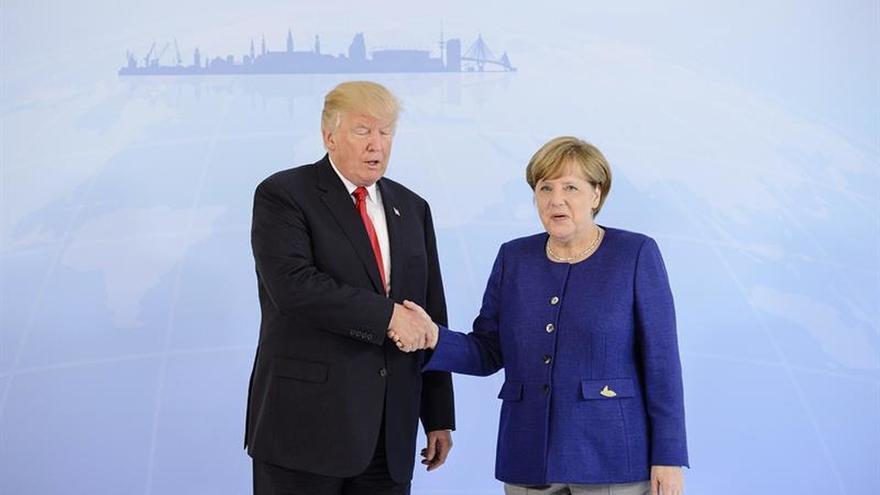 Merkel apura negociaciones con Trump para buscar consensos mínimos en el G20