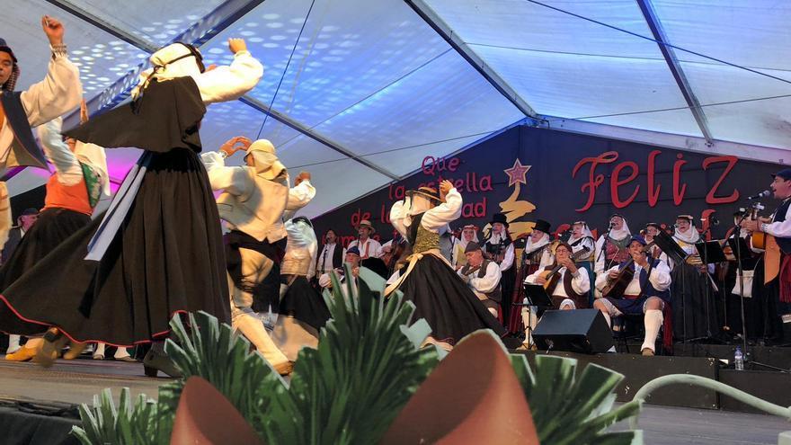 Imagen de archivo de la Feria Artesanal de Reyes de Breña Baja.
