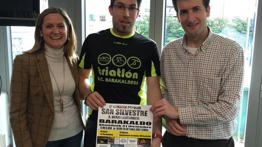 La tercera carrera popular de San Silvestre de Barakaldo se marca como meta superar los 900 corredores del pasado año