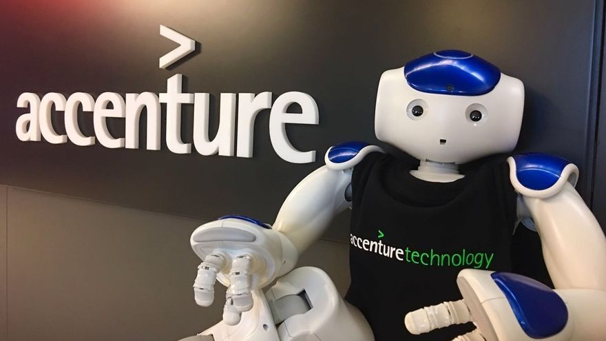Accenture gana 900 millones en el tercer trimestre de su año fiscal, un 55,7% más