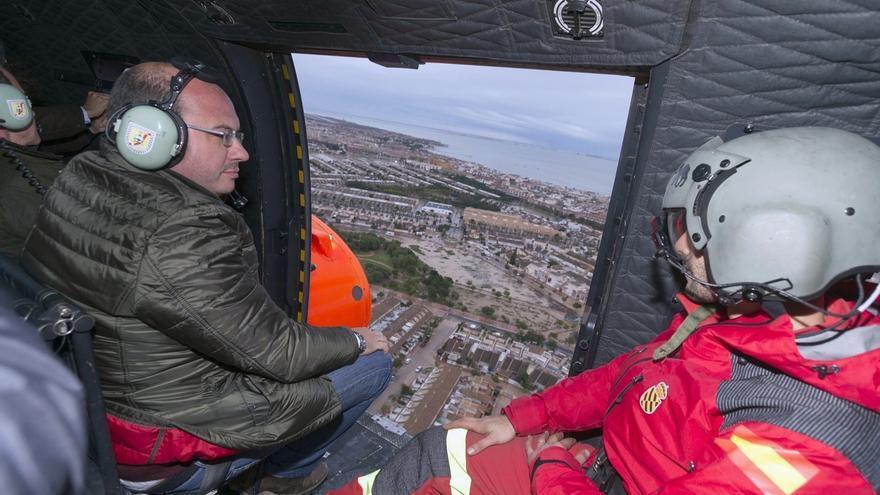 Murcia elabora un inventario de daños y damnificados y espera que Estado apruebe zona catastrófica