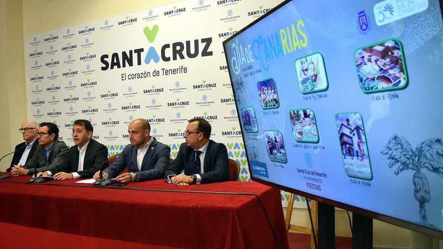 Presentación de las actividades previstas para el 30 de mayo en Santa Cruz