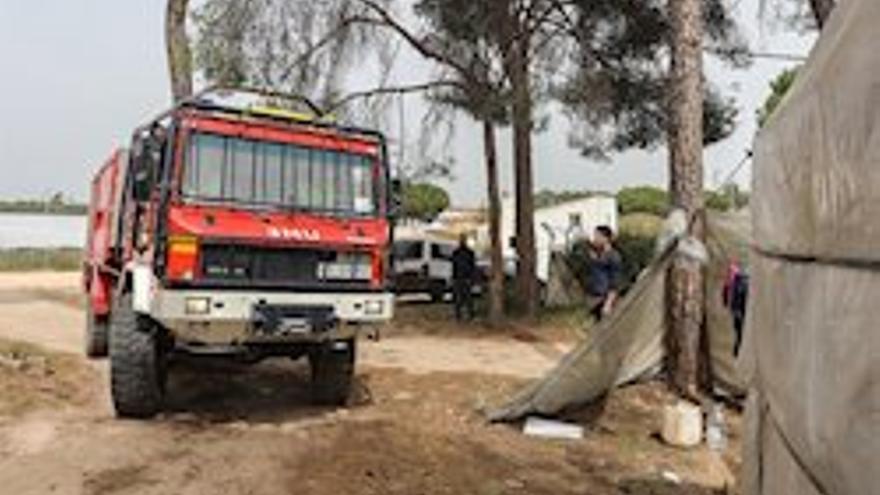 PSOE y Adelante reclaman en un escrito conjunto que la Junta actúe en asentamientos de inmigrantes