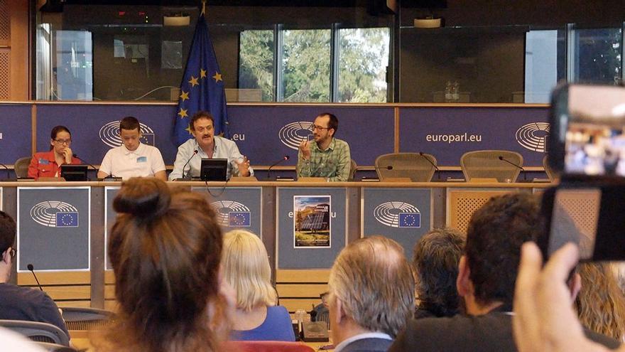 Intervención de César Vea en el Parlamento Europeo. (César Vea).