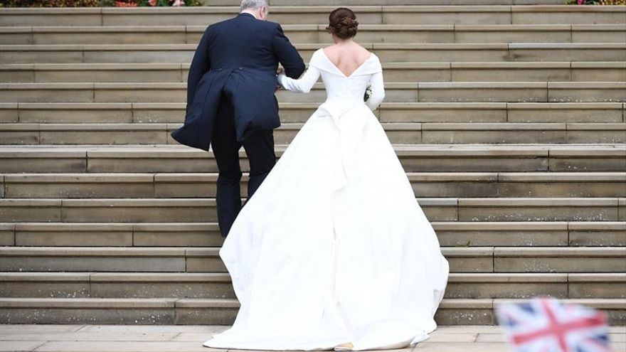 La princesa Eugenia y Jack Brooksbank se casan en el castillo de Windsor