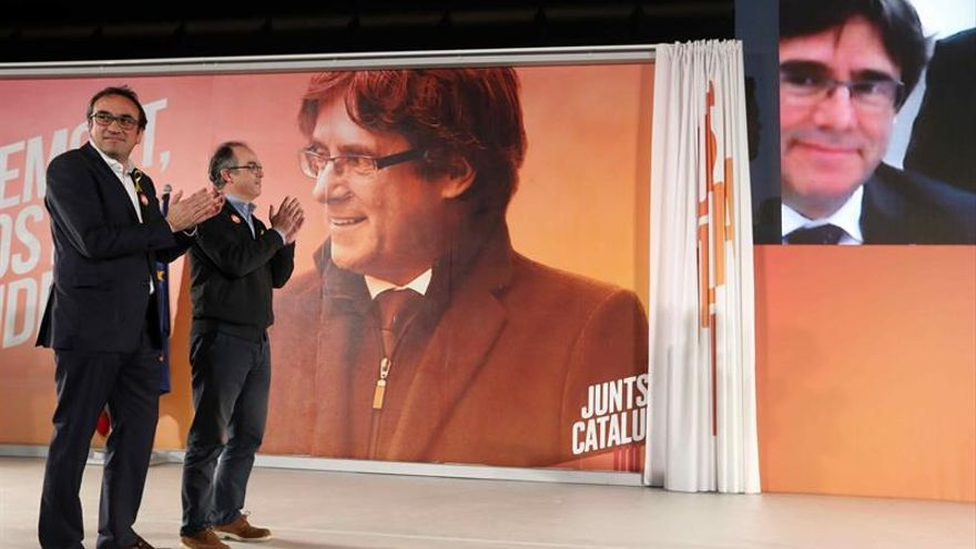 """Puigdemont pide al """"tripartito del 155"""" que abandone la """"fantasía"""" de gobernar"""