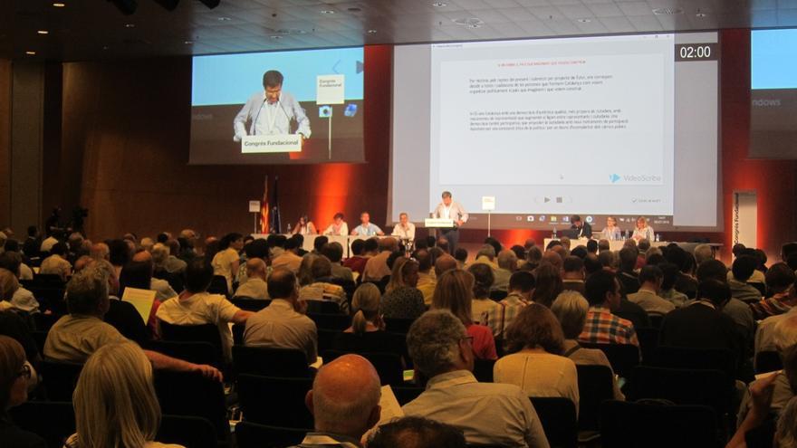 La nueva CDC votará el domingo llamarse Junts per Catalunya, Partit Nacional Català o Partit Demòcrata Català
