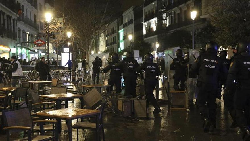 Tres arrestados tras las Marchas por la Dignidad son menores y 3 tienen antecedentes