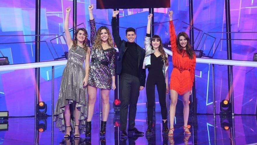 Concursantes de OT en la gala del 22 de enero.